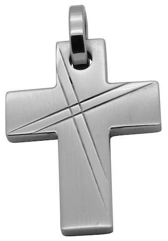 Firetti Kreuzanhänger »Religiös, matt und glänzend, massiv« kaufen