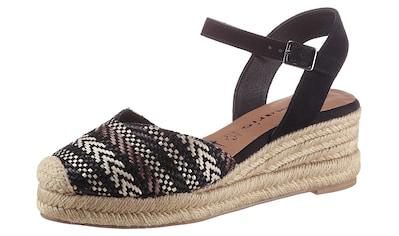 Tamaris Keilsandalette »ORIANA«, mit Ethno-Muster kaufen