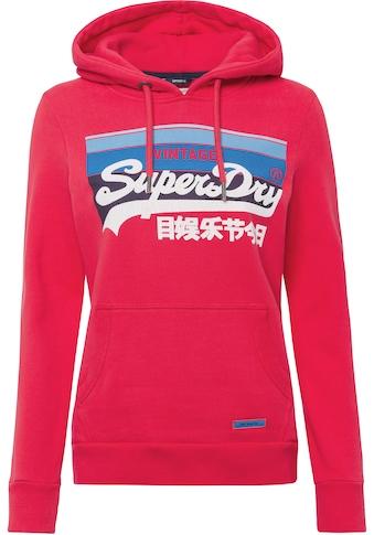Superdry Kapuzensweatshirt »43 VL CALI HOOD«, mit Logoprint kaufen
