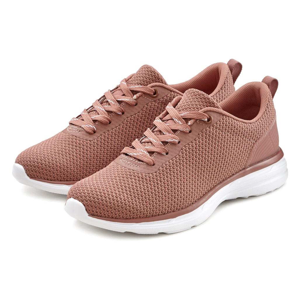 LASCANA Sneaker, ultraleicht und mit softer herausnehmbarer Innensohle