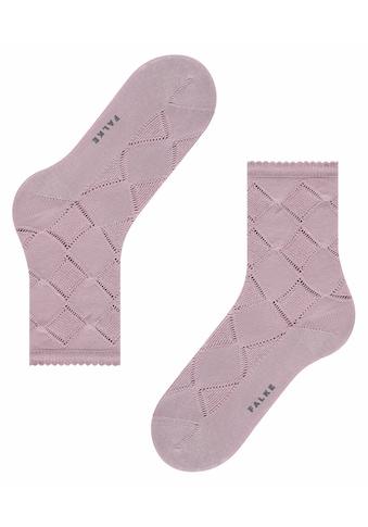 FALKE Socken »Argyle Corrosion«, (1 Paar), mit transparenten Effekten kaufen