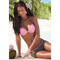 Buffalo Bikini-Hose »Florida«, mit andersfarbigem Ziergürtel