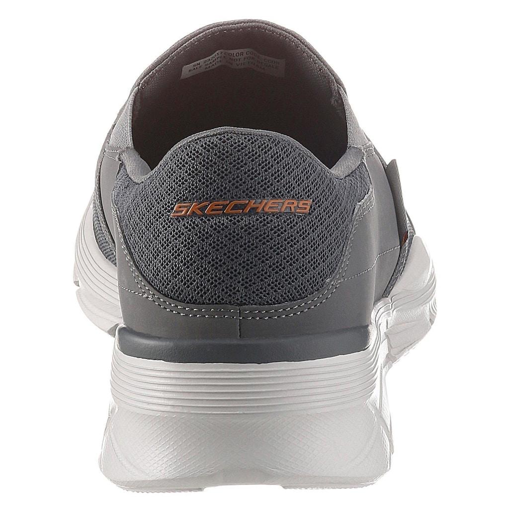 Skechers Slip-On Sneaker »Equalizer 4.0«, mit Air-Cooled Memory Foam-Ausstattung