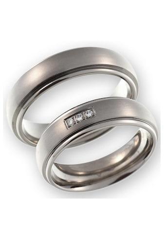 CORE by Schumann Design Trauring »20006172-DR, 20006172-HR, ST050.02«, Made in Germany - wahlweise mit oder ohne Diamanten kaufen