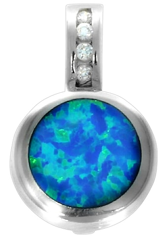 Firetti Kettenanhänger »Opal, glanzvoll, rhodiniert und massiv« kaufen