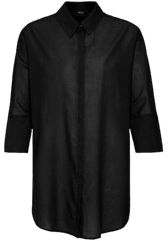 OPUS Hemdbluse »Fritzi«, mit breiter Manschette kaufen