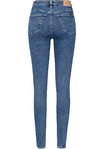 Calvin Klein Jeans Skinny-fit-Jeans »HIGH RISE SKINNY«, mit CK Monogramm... kaufen
