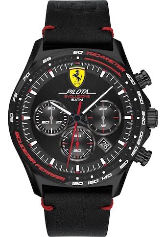 Scuderia Ferrari Chronograph »PILOTA EVO, 830712« kaufen