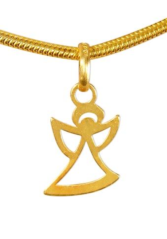 Adelia´s Kettenanhänger »Engel Anhänger 925 Silber vergoldet« kaufen