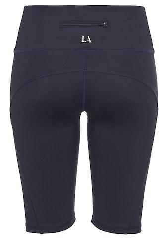 LASCANA ACTIVE Radlerhose »Basic Bottoms«, mit kleiner Bundtasche hinten kaufen
