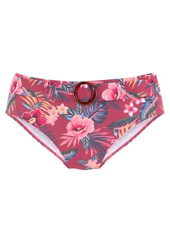 s.Oliver Highwaist-Bikini-Hose »Marika«, mit abnehmbarem Gürtel kaufen