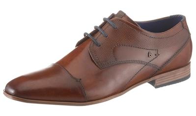 bugatti Schnürschuh »Mattia«, mit modischem Handfinish kaufen