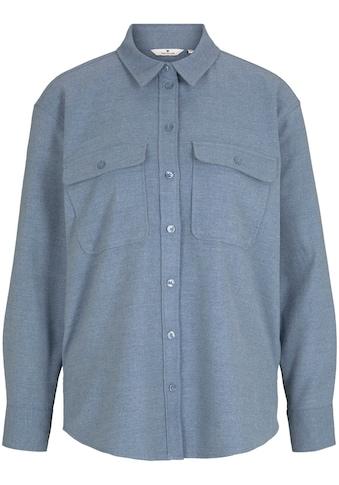 TOM TAILOR Hemdbluse, als Overshirt aus softem Flanell kaufen