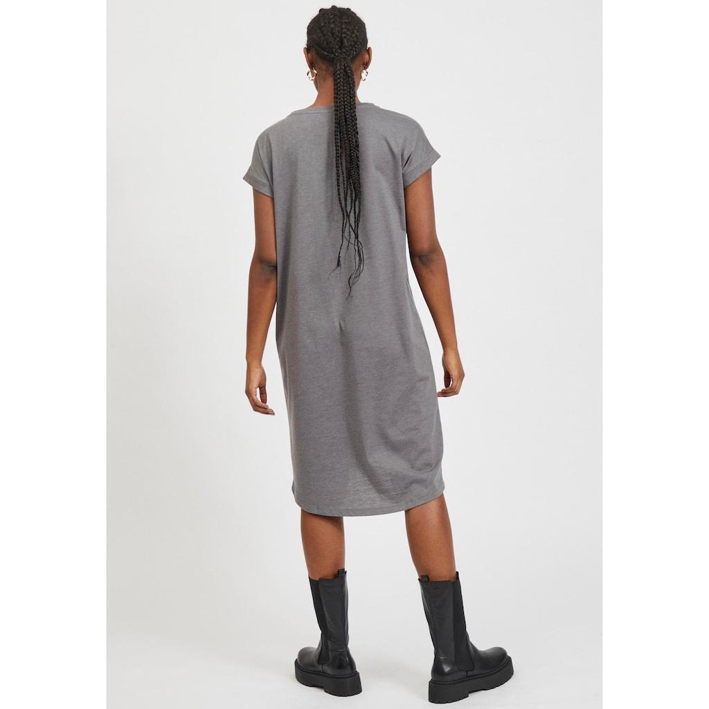 Vila Shirtkleid »VIDREAMERS«, im Rücken etwas länger geschnitten