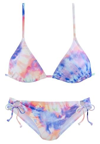 KangaROOS Triangel-Bikini, mit Batik-Design kaufen