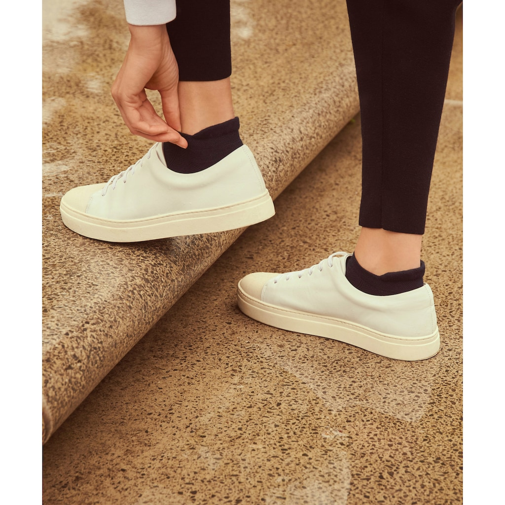 FALKE Sneakersocken »Cool Kick«, (1 Paar), mit ultraleichter Plüschsohle