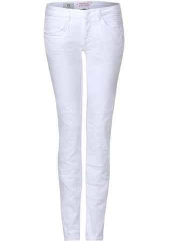 STREET ONE Slim-fit-Jeans »Crissi Colored Denim« kaufen