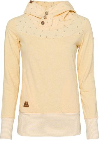 Ragwear Sweater »LUCIE«, mit spirituellem Zierknopf-Besatz kaufen