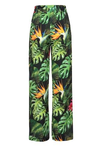Aniston by BAUR Schlupfhose, mit Tropical Print kaufen