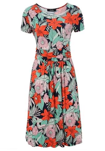 Aniston SELECTED Sommerkleid, mit breitem Bund in der Taille - NEUE KOLLEKTION kaufen