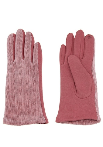 leslii Fingerhandschuhe mit schickem Strickmuster kaufen