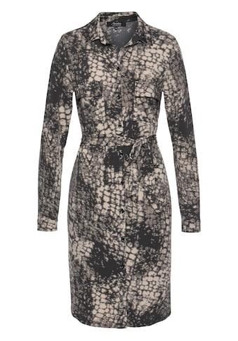 Aniston SELECTED Hemdblusenkleid, mit Bindeband kaufen