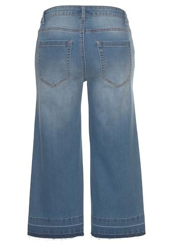 Buffalo Culotte-Jeans, mit ausgefransten Abschlüssen kaufen