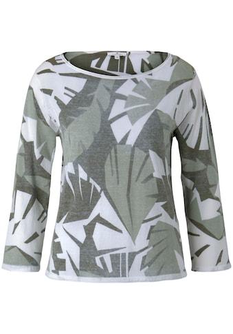 TOM TAILOR 3/4 Arm-Pullover, mit Innendruck kaufen