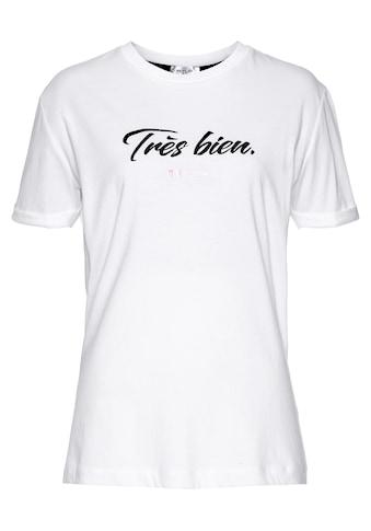 Replay T-Shirt, mit großem Schriftzug kaufen