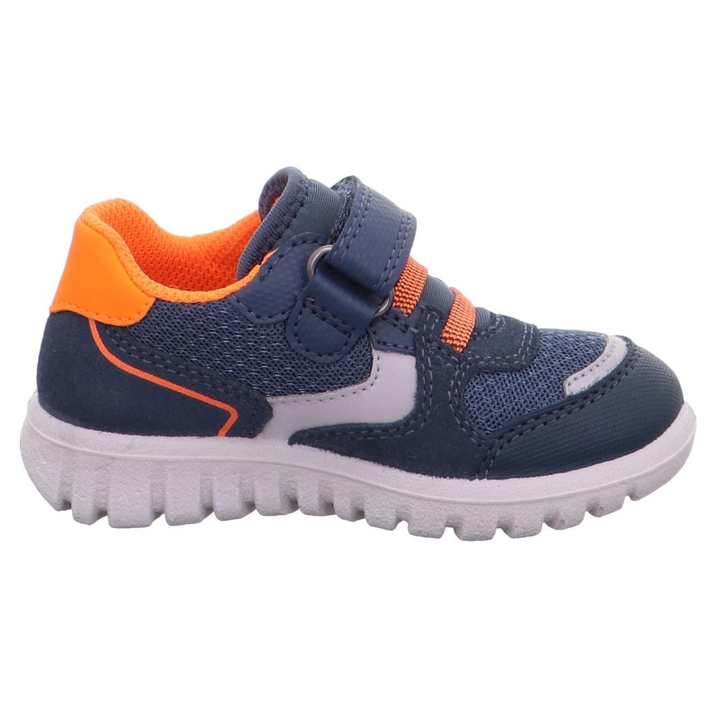 Superfit Sneaker »SPORT7 MINI mit WMS Schuhweiten Mess System«, mit Reflektoren