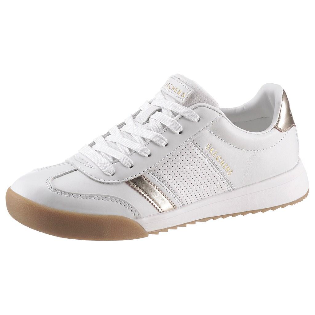 Skechers Sneaker »ZINGER 2.0 FLICKER«, mit goldfarbenen Details