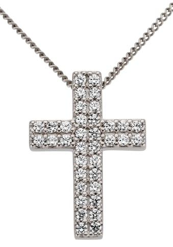 Firetti Kreuzanhänger »Bedeutungsvoll, Glanz, massiv« kaufen