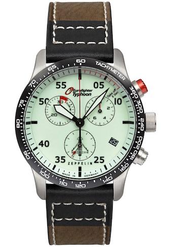 ZEPPELIN Chronograph »Eurofighter Typhoon, vollfluoreszierendes Ziffernblatt, 7298-5« kaufen