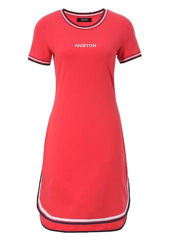 Aniston CASUAL Jerseykleid, mit raffiniertem Saum - NEUE KOLLEKTION kaufen