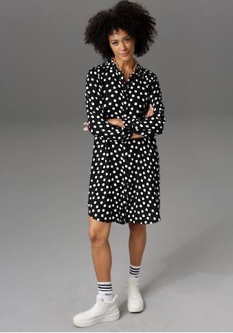 Aniston CASUAL Blusenkleid, im Tupfen-Dessin - NEUE KOLLEKTION kaufen