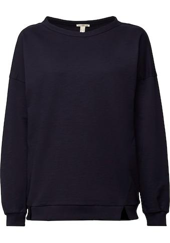 edc by Esprit Sweatshirt, im lässigen Oversized Stil kaufen