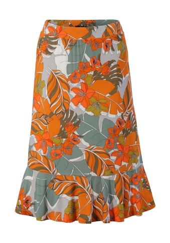 Aniston CASUAL Sommerrock, mit trendfarbenen Blumendruck kaufen