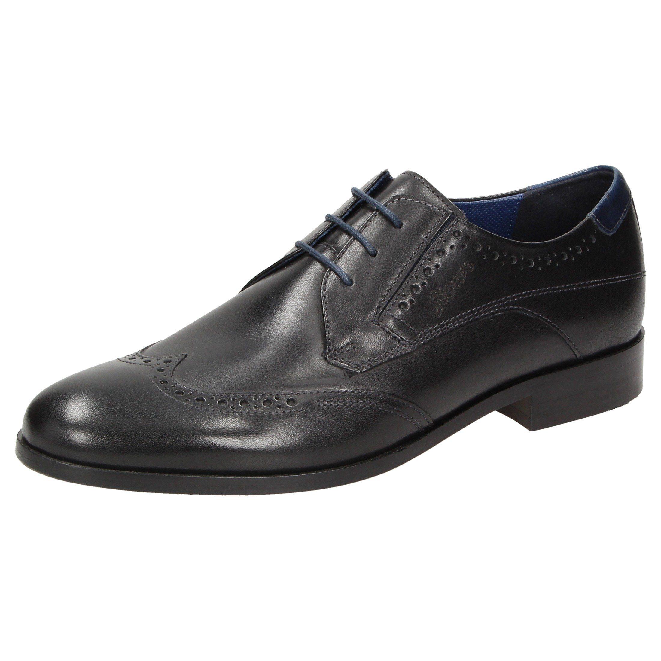 SIOUX Schnürschuh Jaromir-705 | Schuhe > Schnürschuhe | Schwarz | Textil - Stoff | Sioux