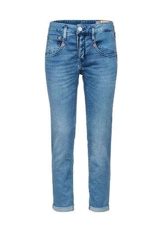 Herrlicher 7/8-Jeans mit raffinierten Abnähern kaufen