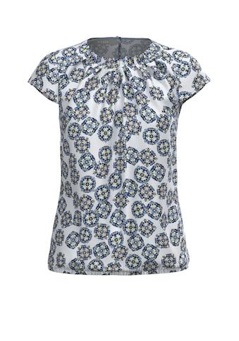 bianca Schlupfbluse »DARIMA«, mit modernem grafischen Print und Cup-Ärmeln kaufen