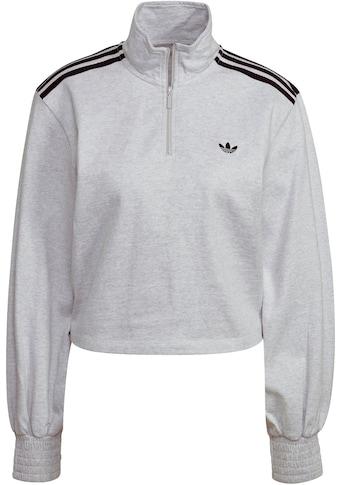 adidas Originals Sweatshirt »CROPPED HALFZIP SWEATER« kaufen