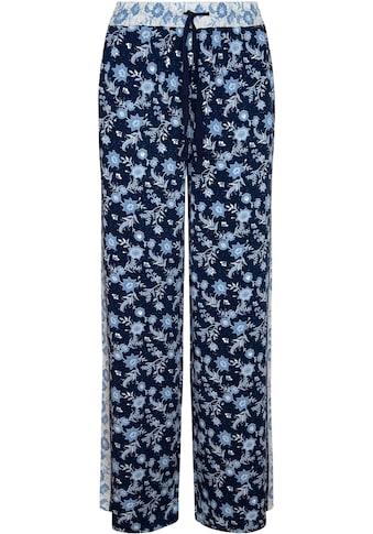 Pepe Jeans Schlupfhose »LYDIA«, mit floralem allover Print und farblich abgesetztem... kaufen