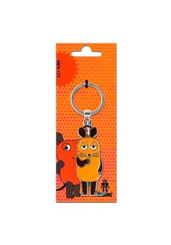 LOGOSHIRT Schlüsselanhänger »Die Maus«, mit lizenziertem Originaldesign kaufen