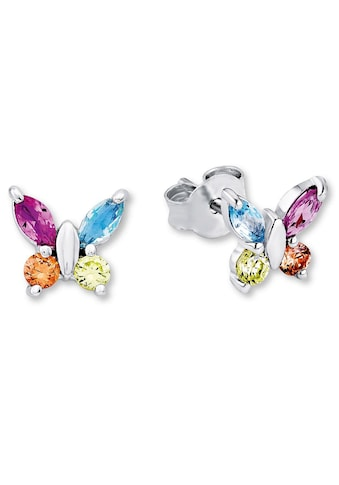 Amor Paar Ohrstecker »Schmetterling, 9210190«, mit Zirkonia und Glassteinen kaufen