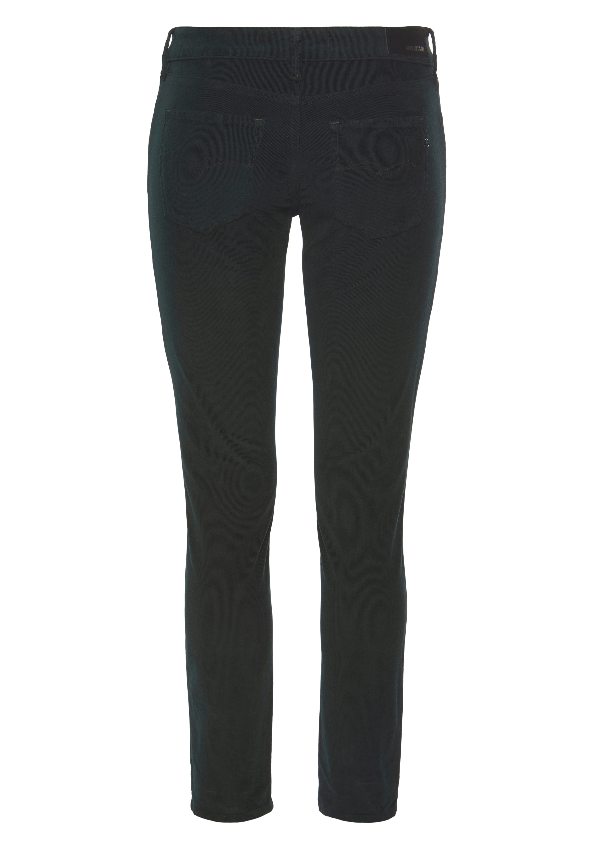 replay -  Cordhose New Luz, coole Skinny in softer Feincord-Stretch-Qualität