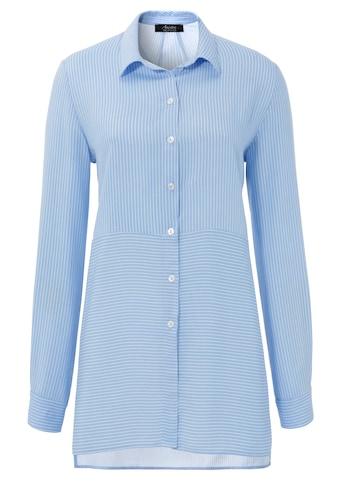 Aniston SELECTED Hemdbluse, im modischen Streifen-Mix - NEUE KOLLEKTION kaufen