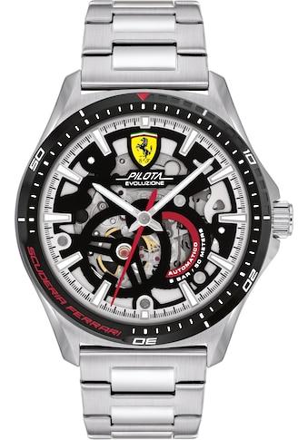 Scuderia Ferrari Automatikuhr »Pilota Evo Automatic, 0830838« kaufen