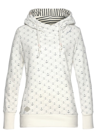 """Ragwear Sweater »GRIPY MARINA«, mit maritimen """"Anker"""" Allover-Druck kaufen"""