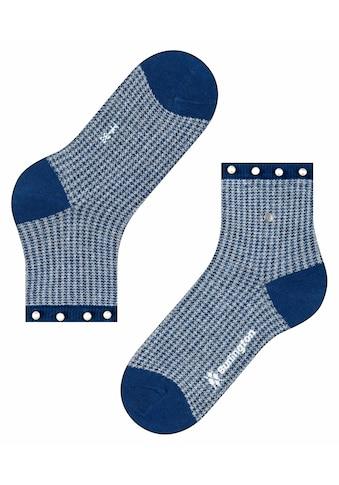 Burlington Socken »Pepita Pearl«, (1 Paar), aus weichem Material kaufen