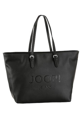 Joop Jeans Shopper »lettera lara shopper lhz«, mit schöner Logo Prägung an der... kaufen